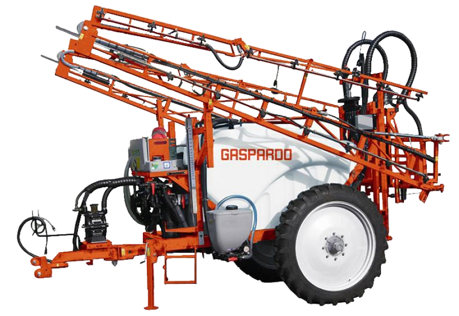 Gaspardo Campo 15-20C vontatott szántóföldi permetező