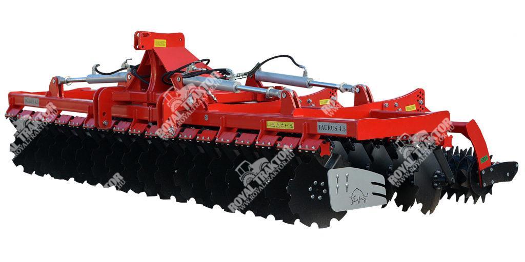 ROL/EX Taurus Heavy hidraulikusan összezárható rövidtárcsa