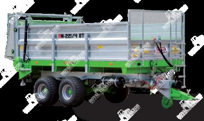 CynkoMet N-221- tandem, 8 tonnás trágyaszóró