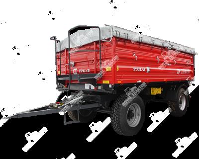 METAL FACH T-711/2 pótkocsi