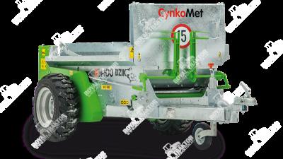 CynkoMet Dzik - mini trágyaszóró