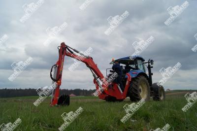 Hydramet H800 árokásó