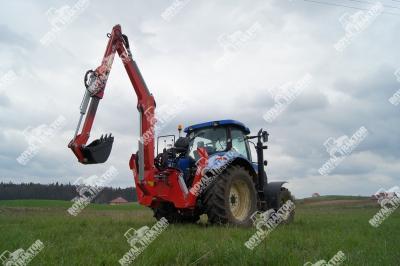 Hydramet H500 árokásó