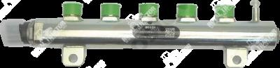 rail (nyomásérzékelővel és határoló szeleppel, 4 hengeres)