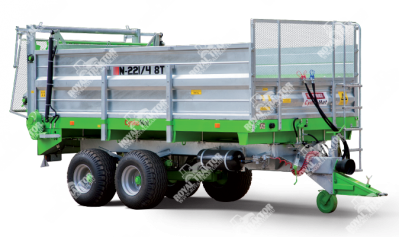 CynkoMet N-221/3 A4VS-P, 8 tonnás trágyaszóró