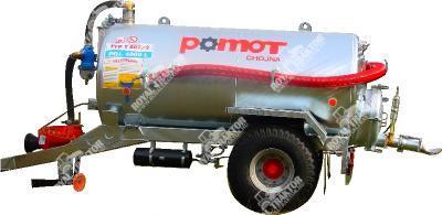 POMOT 4000 L szippantókocsi