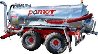 POMOT 10000 L kéttengelyes szippantókocsi