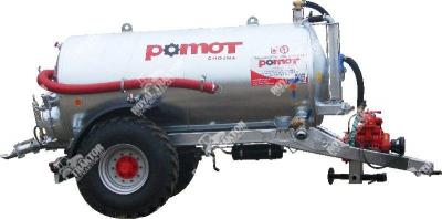 POMOT 8000 L egytengelyes szippantókocsi