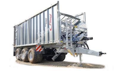 Fliegl ASW 381 Gigant/Greentech pótkocsi