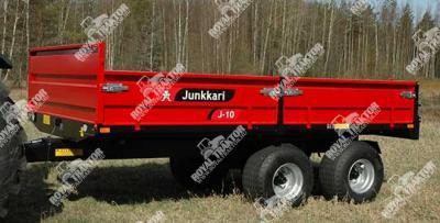 Junkkari J10 pótkocsi