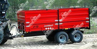 Junkkari J13JL pótkocsi