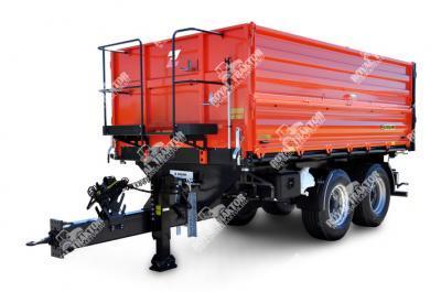 Zaslaw D-762-12K (12 tonna doboz hossza 4,5 m) pótkocsi