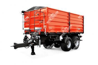Zaslaw D-762-14 XL (14 tonna) Pótkocsi