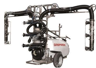 Gaspardo Turbo Teuton FXF vontatott kertészeti permetező