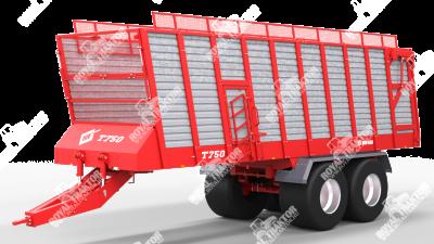Metal Fach T-750  pótkocsi