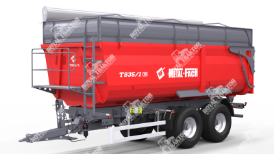 Metal Fach T-935 Pótkocsi