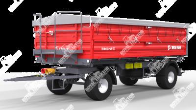 Metal Fach T-940 Pótkocsi