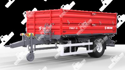 Metal Fach T-957 Pótkocsi