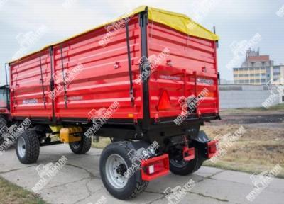 Palaz kéttengelyes pótkocsi 15T