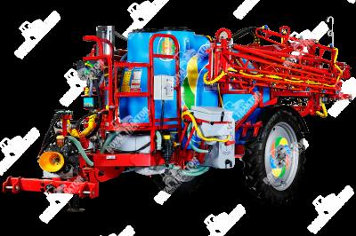 Biardzki 2500L vontatott permetező